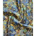 Подкладочная ткань Цветочная, ш. 150, Т-190