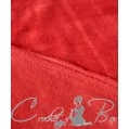 Флис с антипиллинговым покрытием, бордо, ш. 180 см